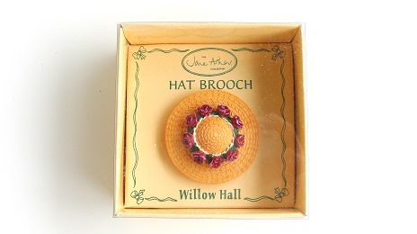 ANGELA MB04 帽子ブローチ:HAT BROOCH Jane Asher Willow Hall