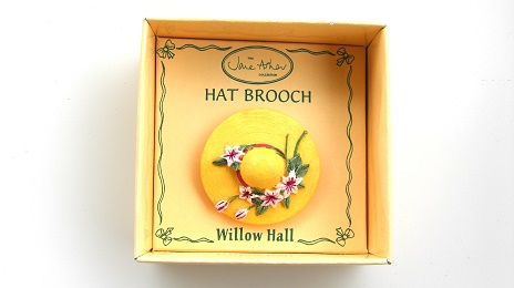 CLARISSA MB02 帽子ブローチ:HAT BROOCH Jane Asher Willow Hall
