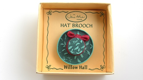 CLAUDIA MB11 帽子ブローチ:HAT BROOCH Jane Asher Willow Hall