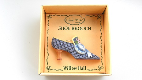 ESTELLE VSB06 靴ブローチ:SHOE BROOCH Jane Asher Willow Hall