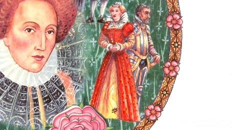 JAMES SADLER KINGS & QUEENS QUEEN ELIZABETH I Dish:ジェームズ・サドラー エリザベス 1 世 皿