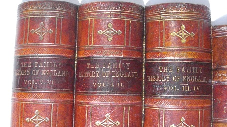 THE FAMILY HISTORY OF ENGLAND 他:ダミーブックパネル The Original Book Works