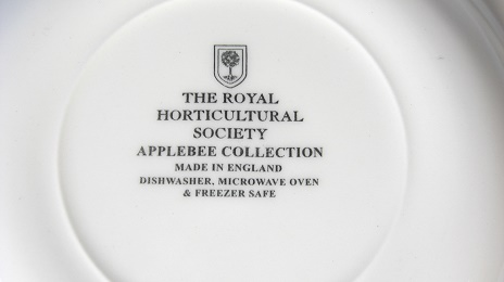 スープ皿 22.5cm:THE ROYAL HORTICULTURAL SOCIETY APPLEBEE COLLECTION