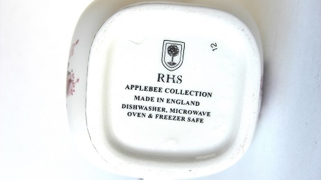 ミルクジャグ:THE ROYAL HORTICULTURAL SOCIETY APPLEBEE COLLECTION
